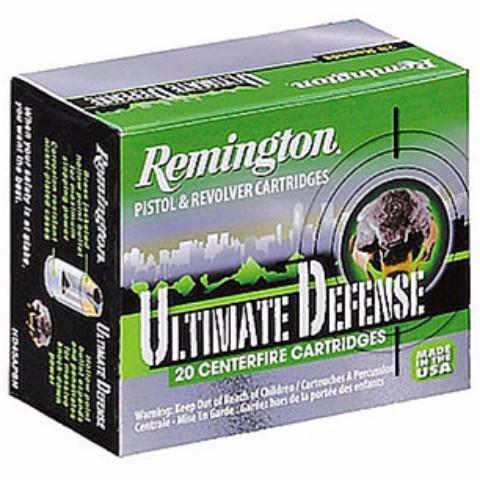 Remington 9MM 124 Gr Ultimate Defense Compact BJHP (20)