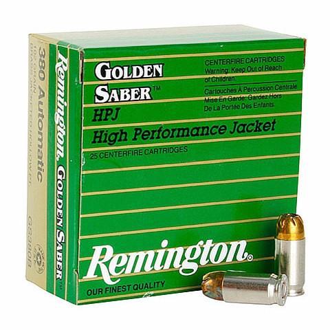 Remington 380 Auto 102 Gr Golden Saber BJPH (25)