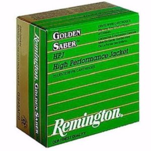 Remington 40 S&W 165 Gr Golden Saber BJPH (25)