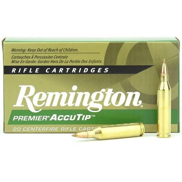 Remington 243 Win 95 Gr Premier Accutip (20)