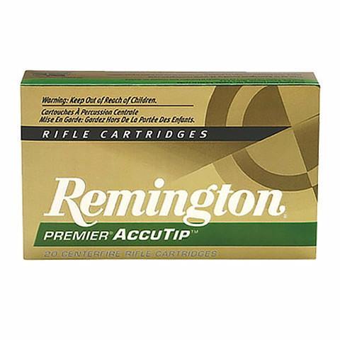 Remington 270 Win 130 Gr Premier AccuTip (20)