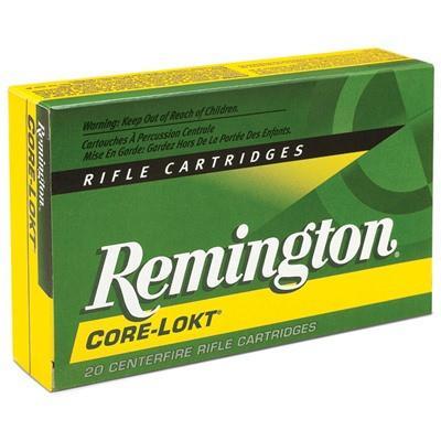 Remington 25-06 Rem 100 Gr Core-Lokt PSP (20)