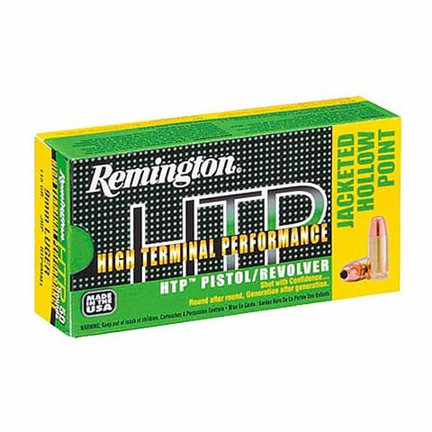 Remington 9MM 147 Gr High Terminal Performance HTP Subsonic JHP (50)