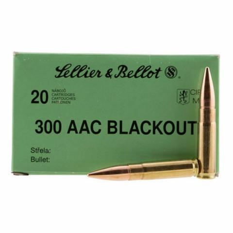 Sellier & Bellot 300 AAC Blackout 147 Gr FMJ (20)