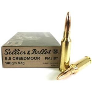 Sellier & Bellot 6.5 Creedmoor 140 Gr FMJ-BT (20)