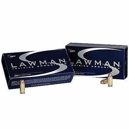 Speer 38 Special +P 158 GR TMJ Lawman (50)