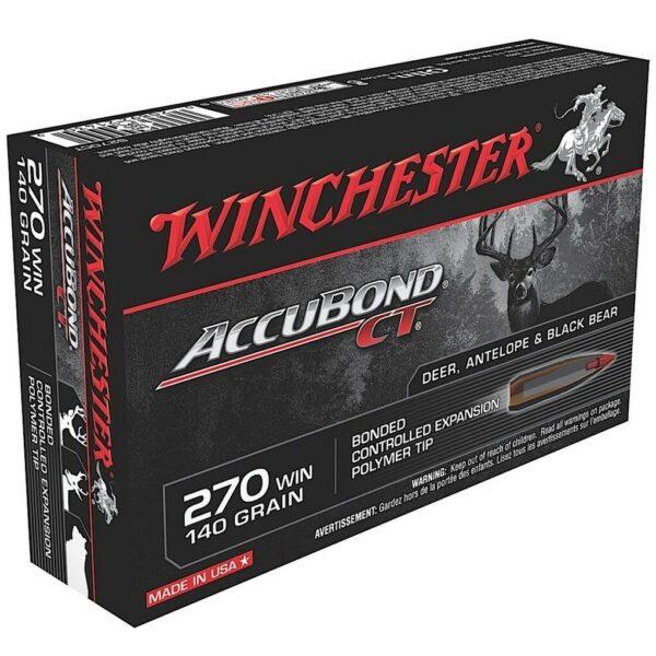 Winchester 270 Win 140 GR Supreme AccuBond CT (20)
