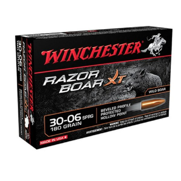 Winchester 30-06 Springfield 180 GR Razor Boar HP (20)