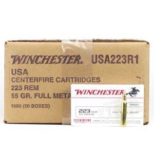 Winchester 223 Rem 55 Gr FMJ (20)