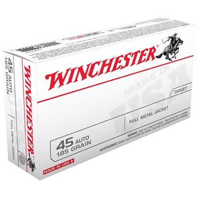 Winchester 45 Auto 185 Gr FMJ (50)