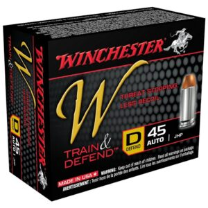 Winchester 45 ACP 230 GR Train and Defend JHP (20)