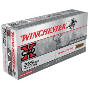 Winchester 223 Rem 64 GR Super-X Power Core (20)
