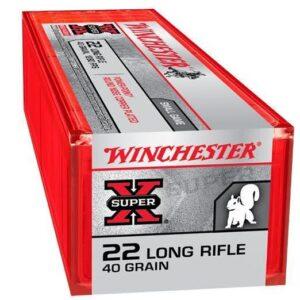 Winchester 22 LR 40 Gr Super X CC HP (100)