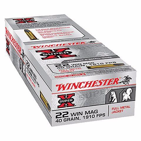 Winchester 22 WMR 40 Gr Super X Varmint JHP (50)