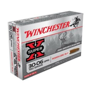 Winchester 30-06 Springfield 150 GR Super-X Power Core (20)