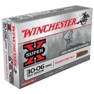 Winchester 30-06 Springfield 150 GR Super-X Power Core (20)