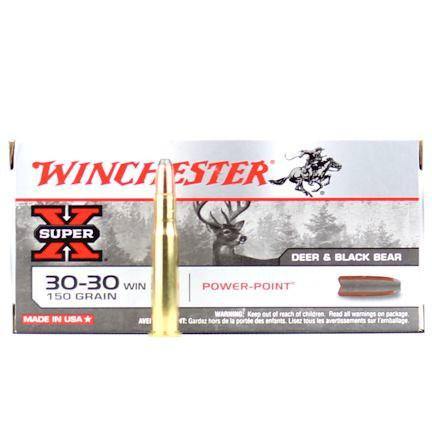 Winchester Super X 30-30 150 Gr Power Point (20)
