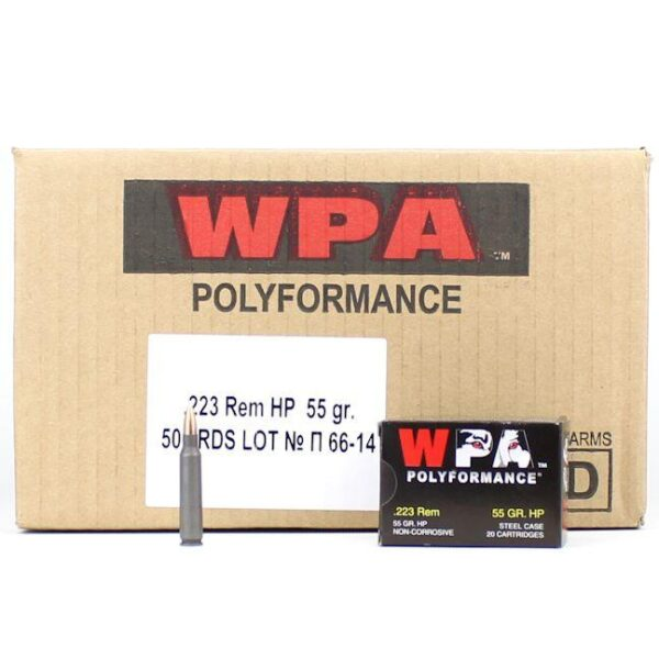 Wolf 223 55 Grain HP WPA Polyformance (20)