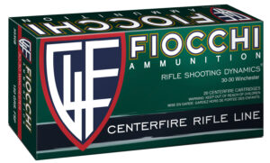 Fiocchi 30-30 Win 150 Gr Flat Soft Point (20)
