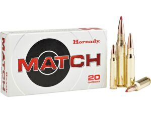 Hornady 223 Rem 73 Grain ELD-M (Extremly Low Drag) Match (20)