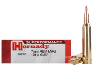 Hornady 7mm Rem Mag 139 Grain GMX (MonoFlex) Superformance (20)