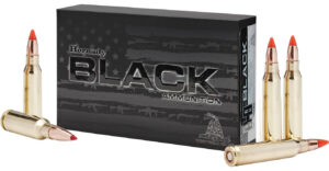 Hornady 308 Win 155 Grain A-MAX Black (20)