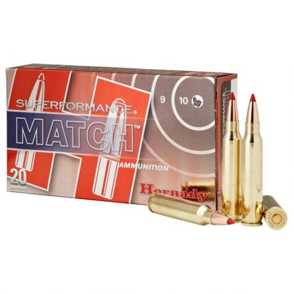 Hornady 5.56 Nato 73 Grain ELD-M (Extremly Low Drag) Match Superformance (20)