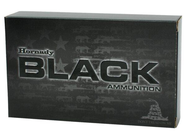Hornady 5.56 Nato 75 Grain Interlock HD SBR Black (20)