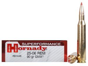 Hornady 25-06 Rem 90 Grain GMX (MonoFlex) Superformance (20)