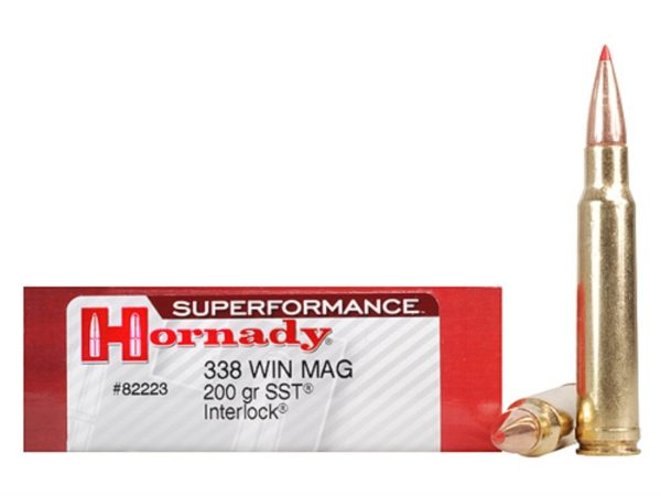 Hornady 338 Win Magnum 200 Grain SST (Super Shock Tip) Superformance (20)