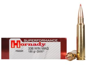 Hornady 338 Win Magnum 185 Grain GMX (MonoFlex) Superformance (20)