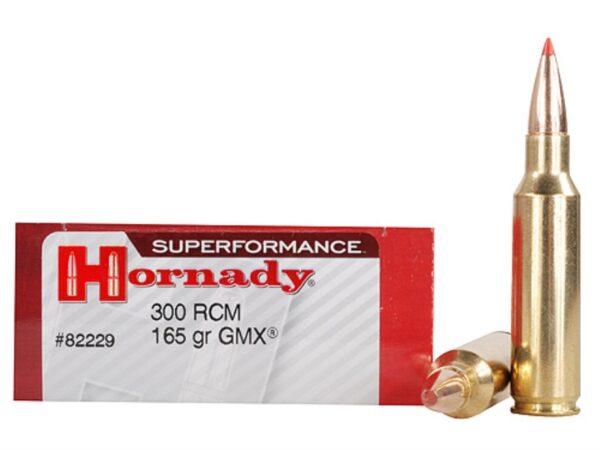 Hornady 300 RCM 165 Grain GMX (MonoFlex) Superformance (20)