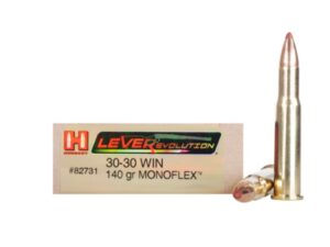 Hornady 30-30 Win 150 Grain GMX (MonoFlex) LEVERevolution (20)