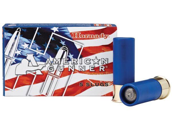 Hornady 12 Ga Reduced Recoil 1 Oz Slug American Gunner (5)
