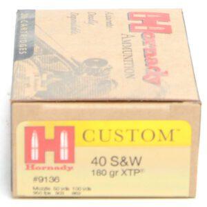 Hornady 40 S&W 180 Grain XTP (eXtreme Terminal Performance) (20)