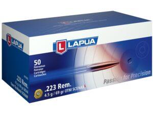 Lapua 223 Rem 69 Grain Scenar-L Open Tip Match (50)