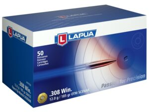 Lapua 308 185 Grain Scenar Open Tip Match (50)
