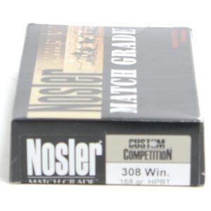 Nosler 308 Win 168 Grain Custom Competition (20)