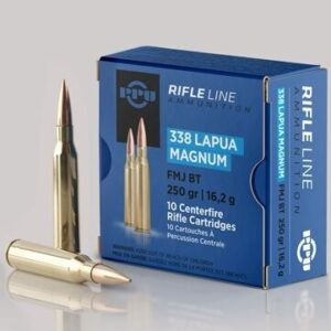 Prvi 338 Magnum Lapua 250 Grain Hollow Point Boat Tail (10)