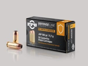 Prvi 40 S&W 180 Grain Jacketed Hollow Point (50)
