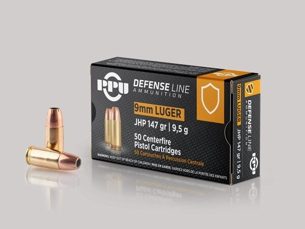 Prvi 9mm Luger 147 Grain Jacketed Hollow Point (50)