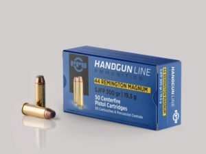 Prvi 44 Magnum 300 Grain Flat Point (50)