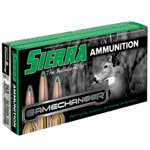Sierra 243 Win 90 Grain TGK Game Changer Polymer Tipped Spitzer Boat Tail (20)