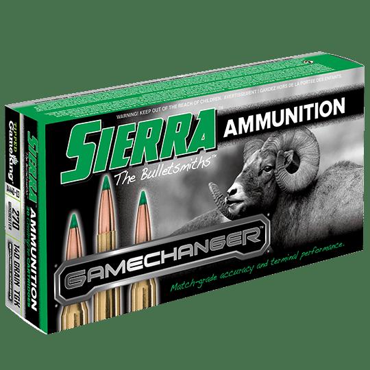Sierra 270 Win 140 GrainTGK Game Changer Polymer Tipped Spitzer Boat Tail (20)