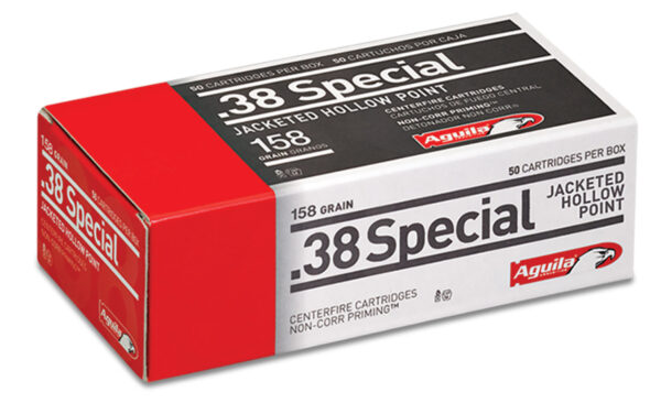 Aguila 38 Special 158 Gr Semi-Jacketed HP (50)