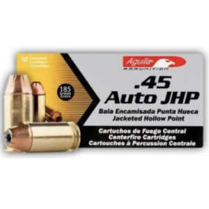 Aguila 45 Auto 185 Gr HP (50)