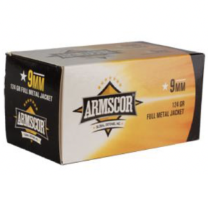 Armscor 9mm 124 GR FMJ VALUE PACK (100)