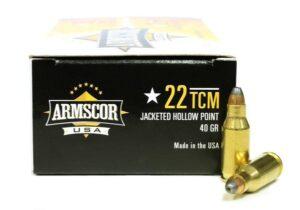 Armscor 22 TCM 40Gr. JHP (50)