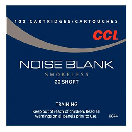 CCI Blank 22 Short NO BULLET (100)