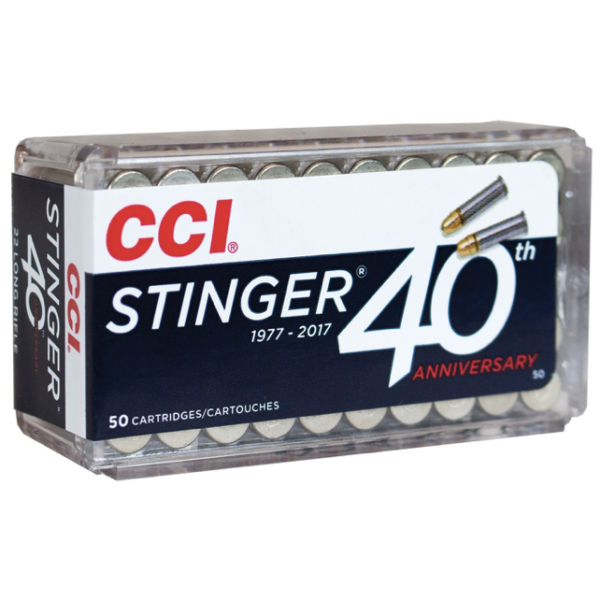 CCI 22 LR 32 Gr Copper Plated HP Stinger (50)
